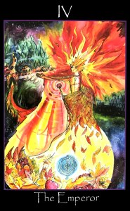 Tarot of the Sidhe - The Emperor