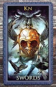 Encore Tarot - Knight of Swords
