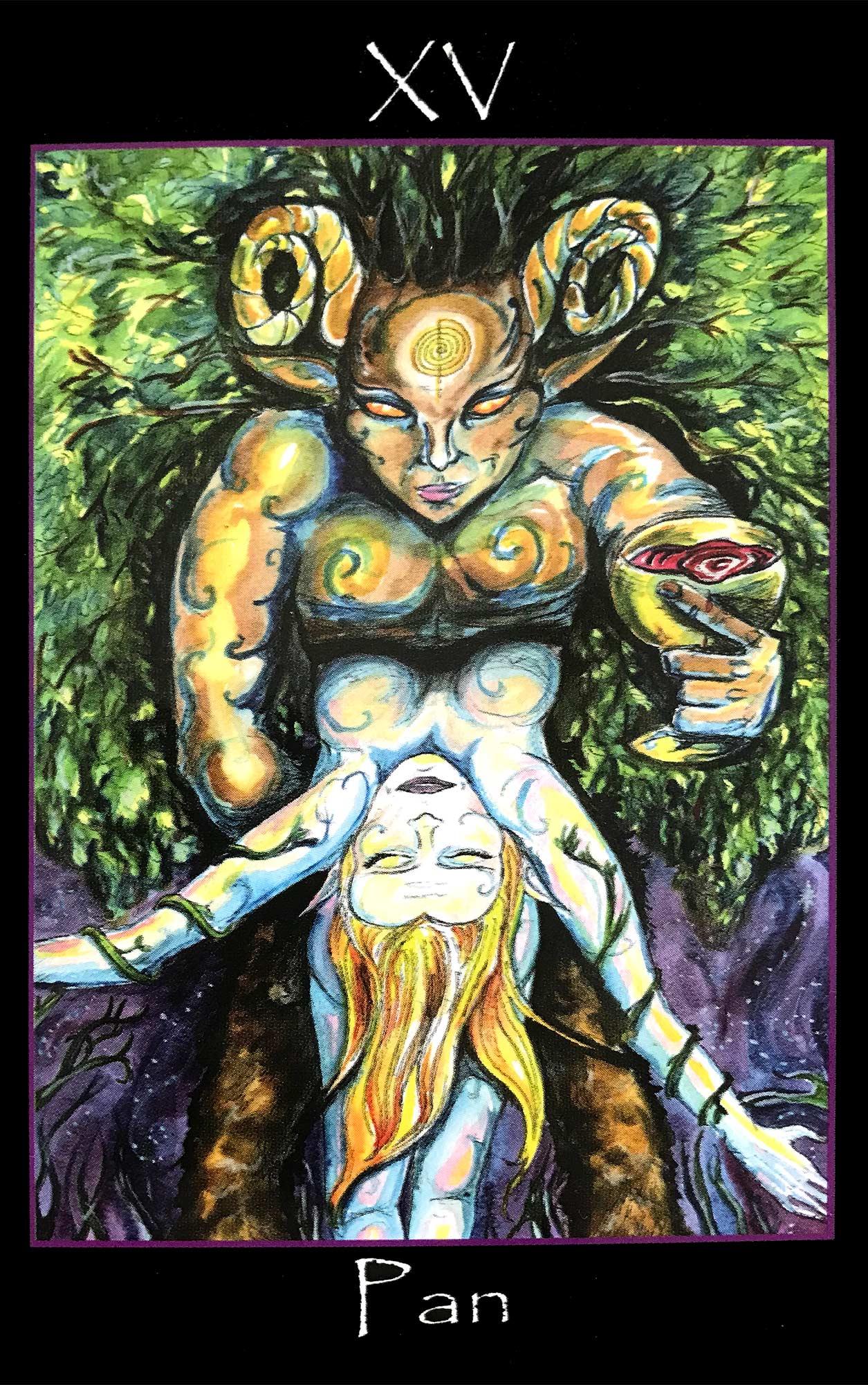 Tarot of the Sidhe - Pan, The Devil