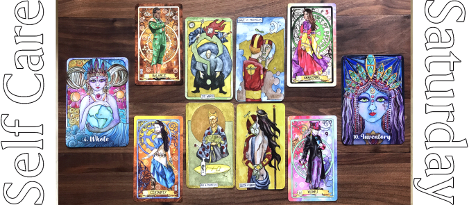 Tarot of Why, Ashelon Oracle, Embody Oracle