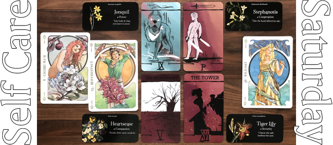 Spark and Pen Tarot, Flowers Oracle, Language of Flowers Oracle