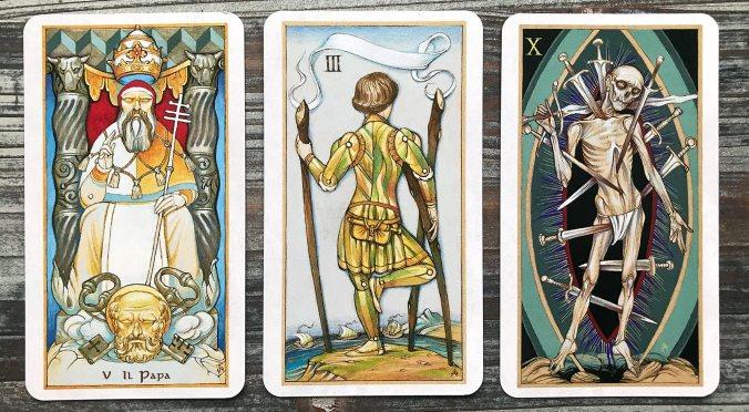 Tarot by Alexander Daniloff 2012 IV edition
