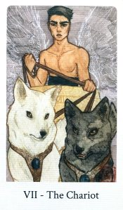 Botan Tarot - The Chariot