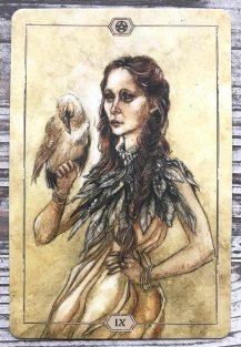 Hush Tarot - Nine of Pentacles