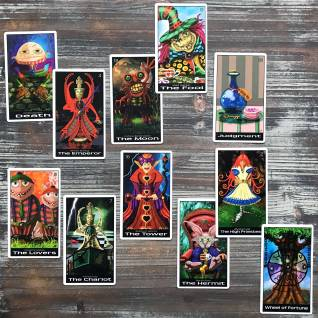 Wonderland Tarot (Majors Only)