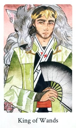 Botan Tarot - King of Wands