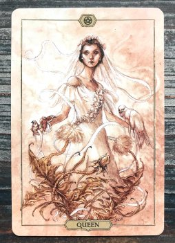 Hush Tarot - Queen of Pentacles
