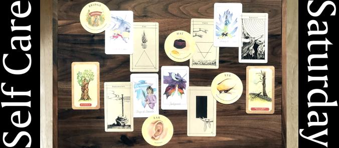 Tarot Leaves, Supra Oracle, Tea Leaf Fortune Cards, Tree of Life Oracle