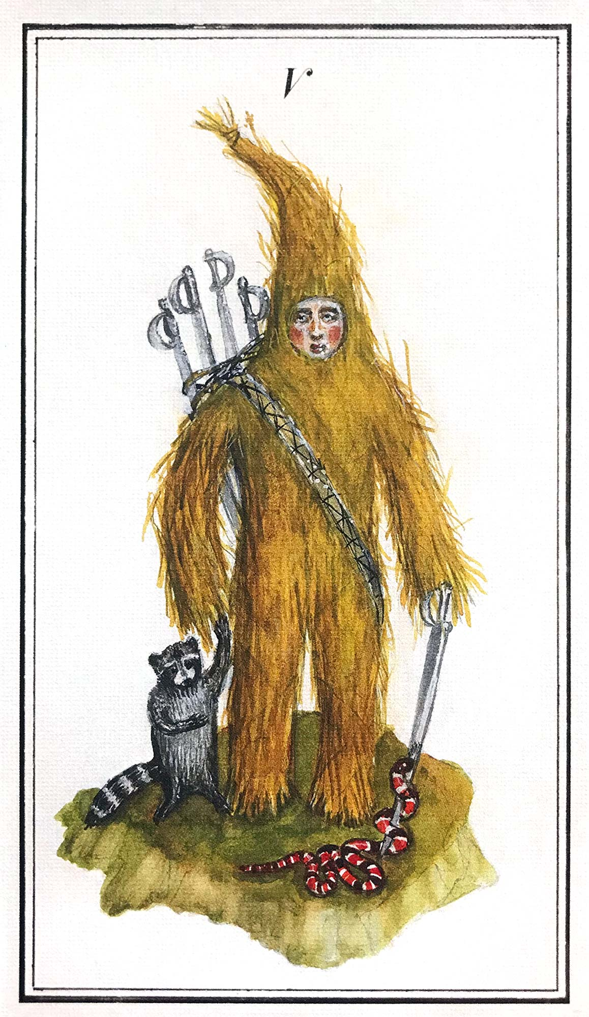 Carnival at the End of the World Tarot - The Hierophant