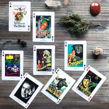 Piatnik's The Horror! Movie Playing Cards