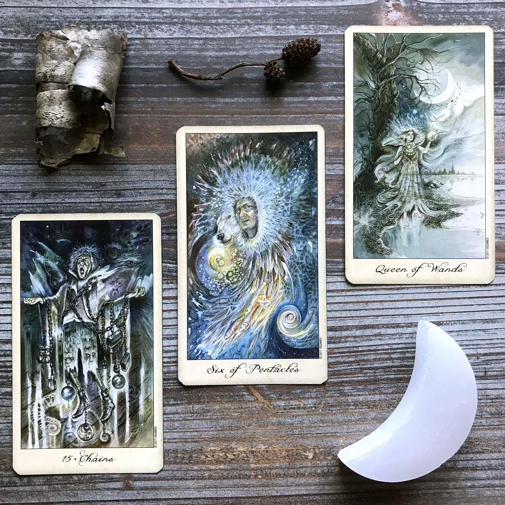 Ghosts and Spirits Tarot