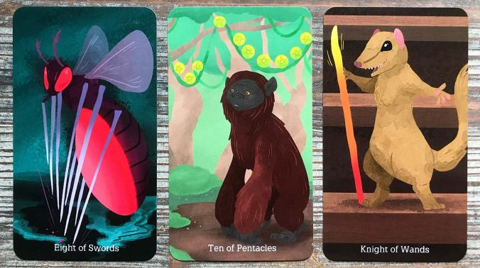The Cryptid Tarot