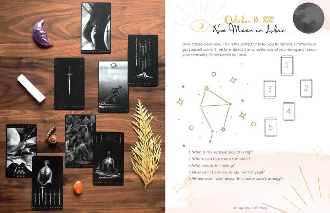 De Brigh Black Tarot - New Moon in Libra Tarot Reading