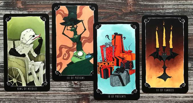 Nightmare Before Christmas Tarot