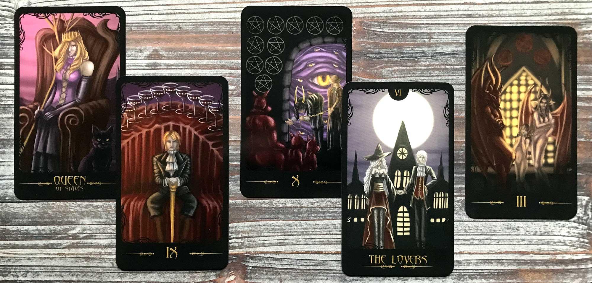 Gothic Horror Tarot