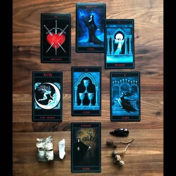 The Gothic Tarot - Sovereign Self Spread