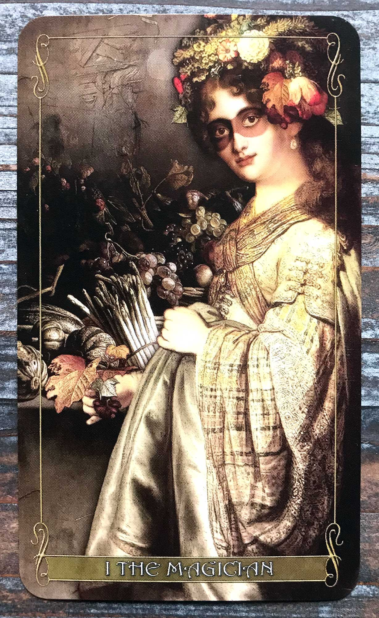Madam Lydia Wilhelmina's Tarot - The Magician
