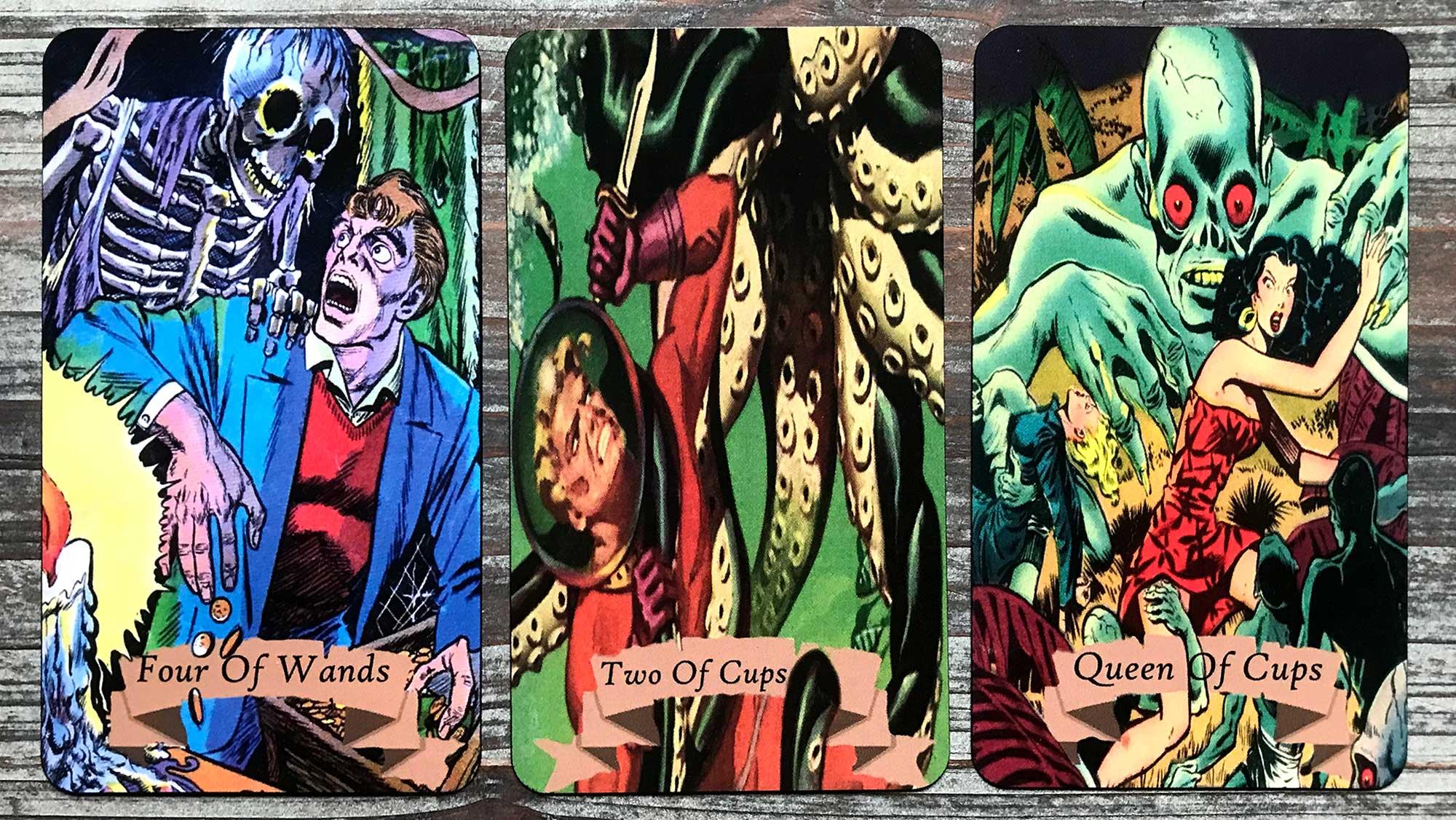 Golden Age of Horror Comics Tarot