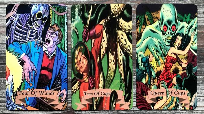 Golden Age of Horror Comics Tarot