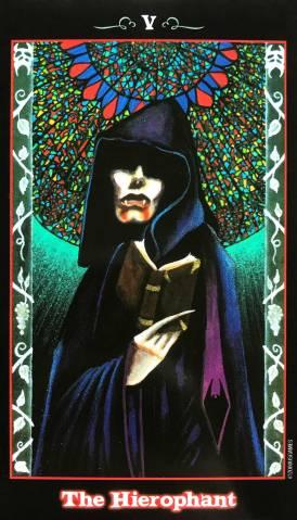 The Vampire Tarot - The Hierophant