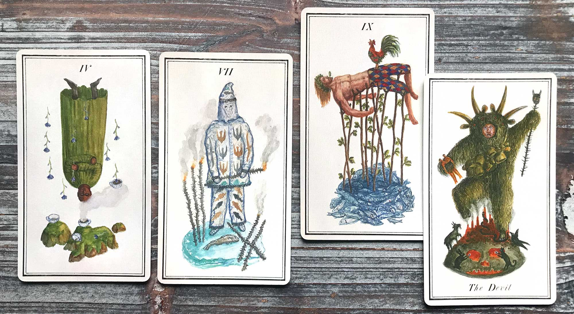 Carnival at the End of the World Tarot