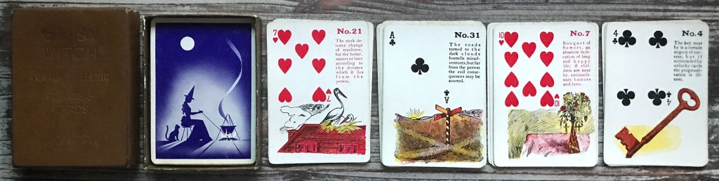 Gypsy Witch Fortune Cards c.1920