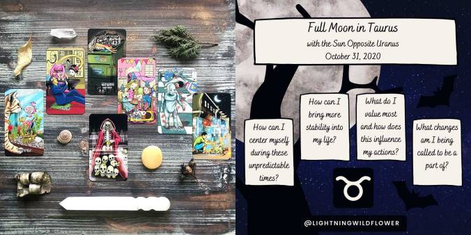 Twisted Tarot Tales - Full Moon in Taurus Tarot Reading