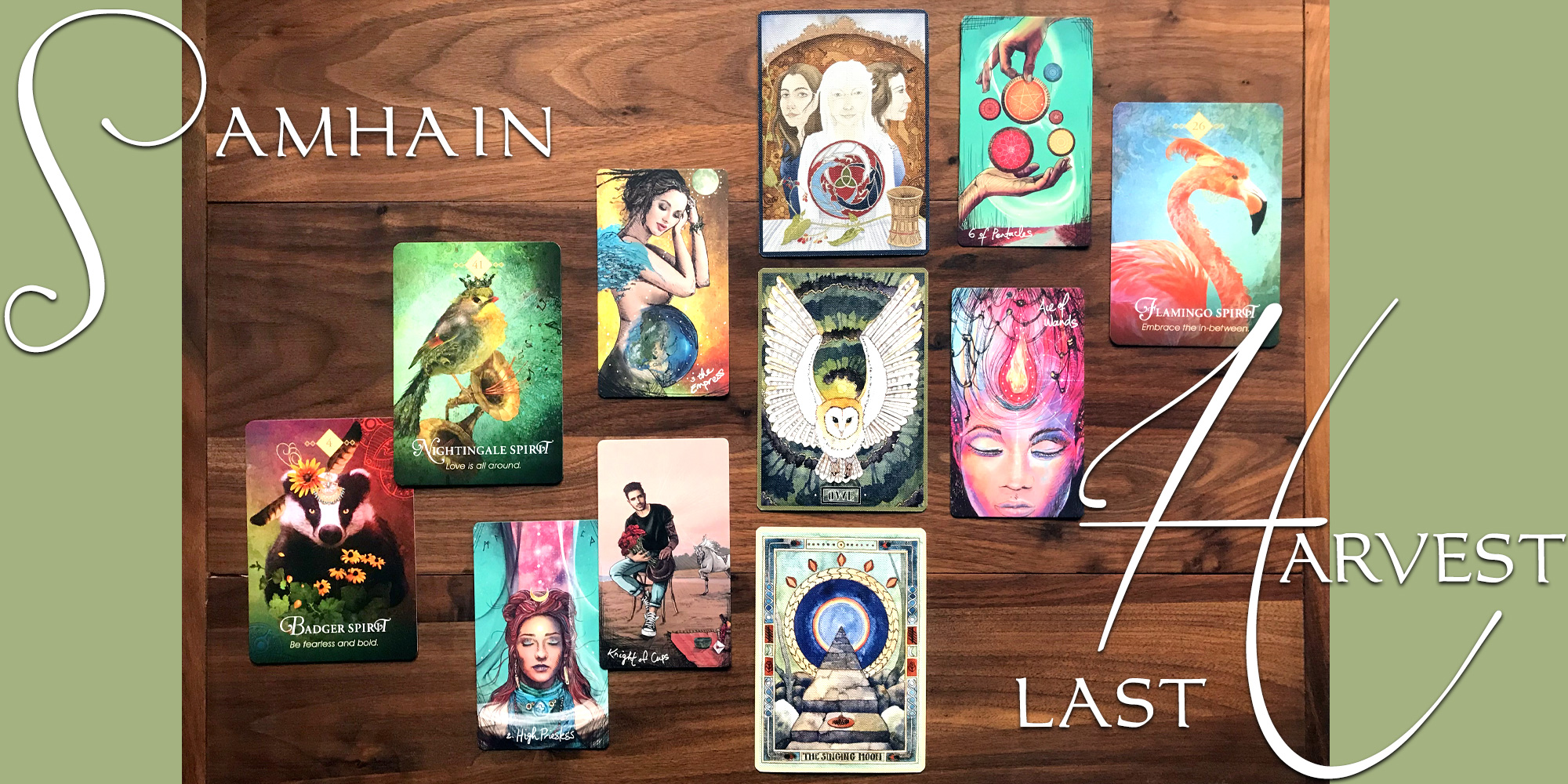 Samhain Tarot Reading - The Last Harvest