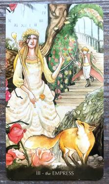 Tarot of the Little Prince - The Empress