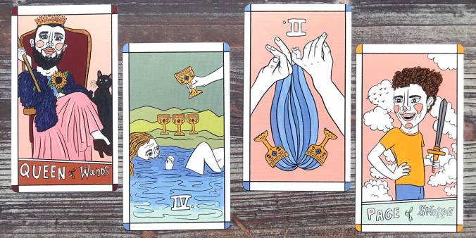 Ride or Wait Tarot