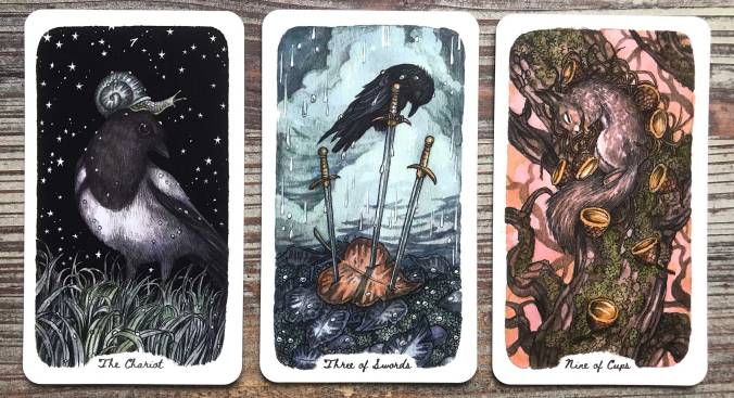 Oak Ash & Thorn Tarot