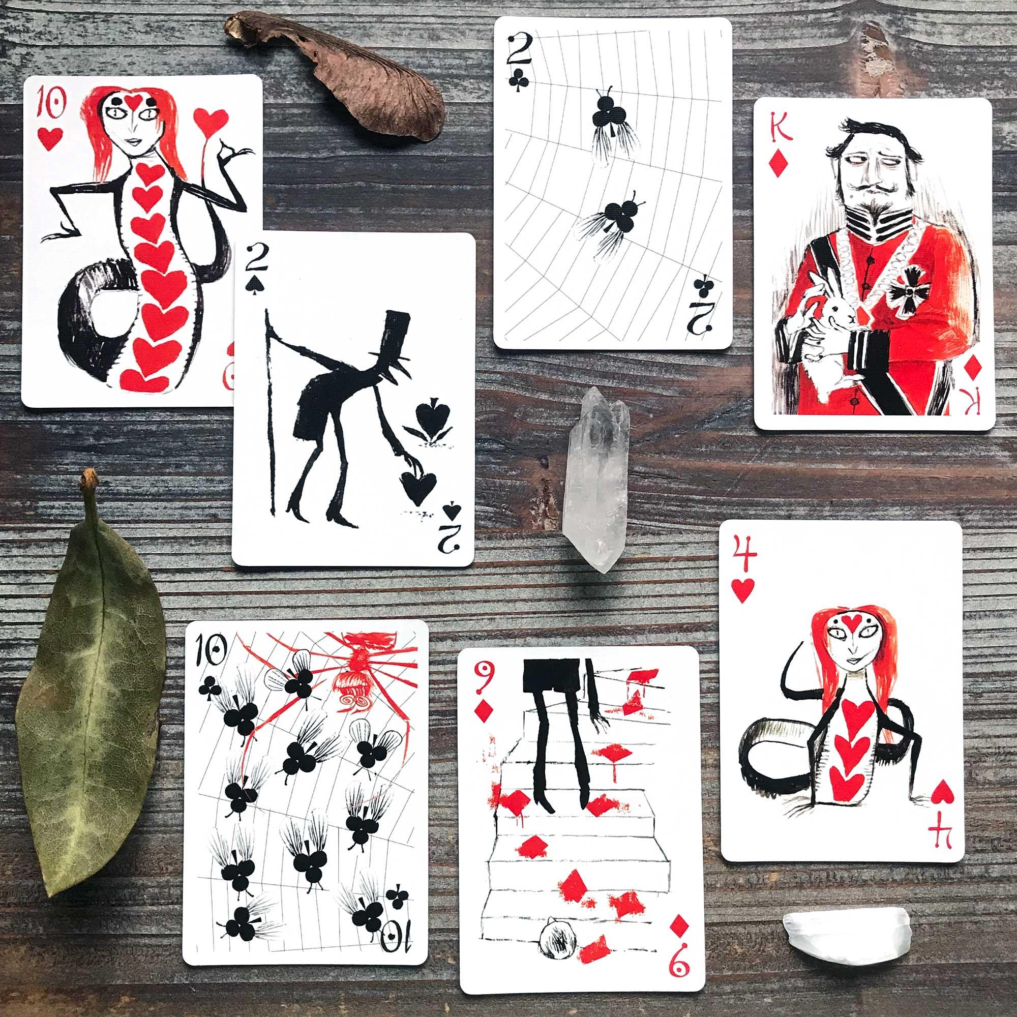 Bag of Bones Playing Cards