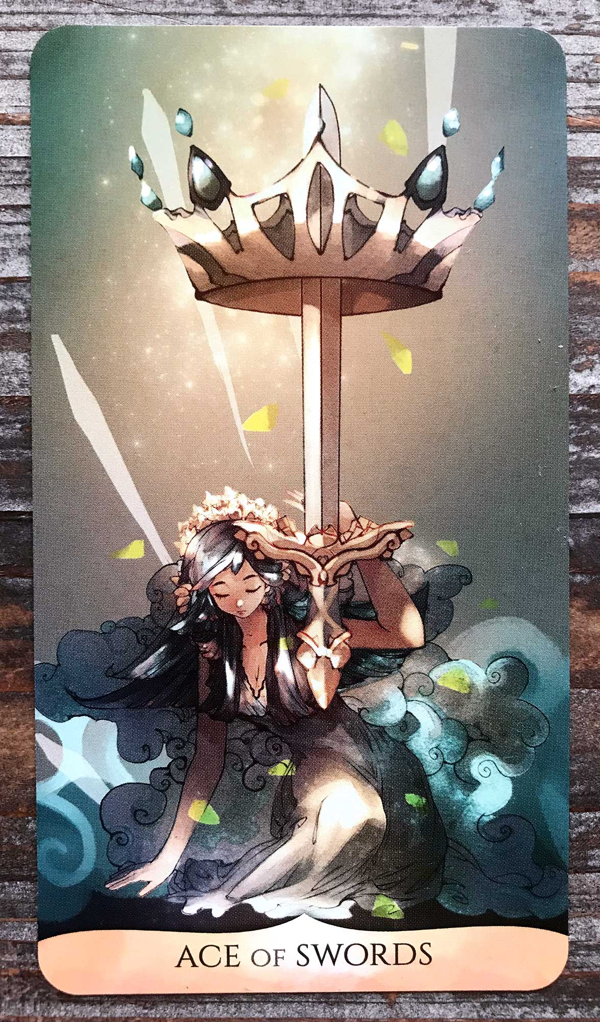 Traditional Manga Tarot - Ace of Swords