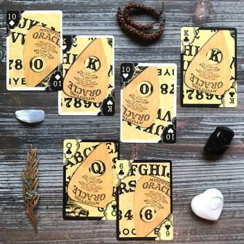 Ouija Playing Cards by Hasbro