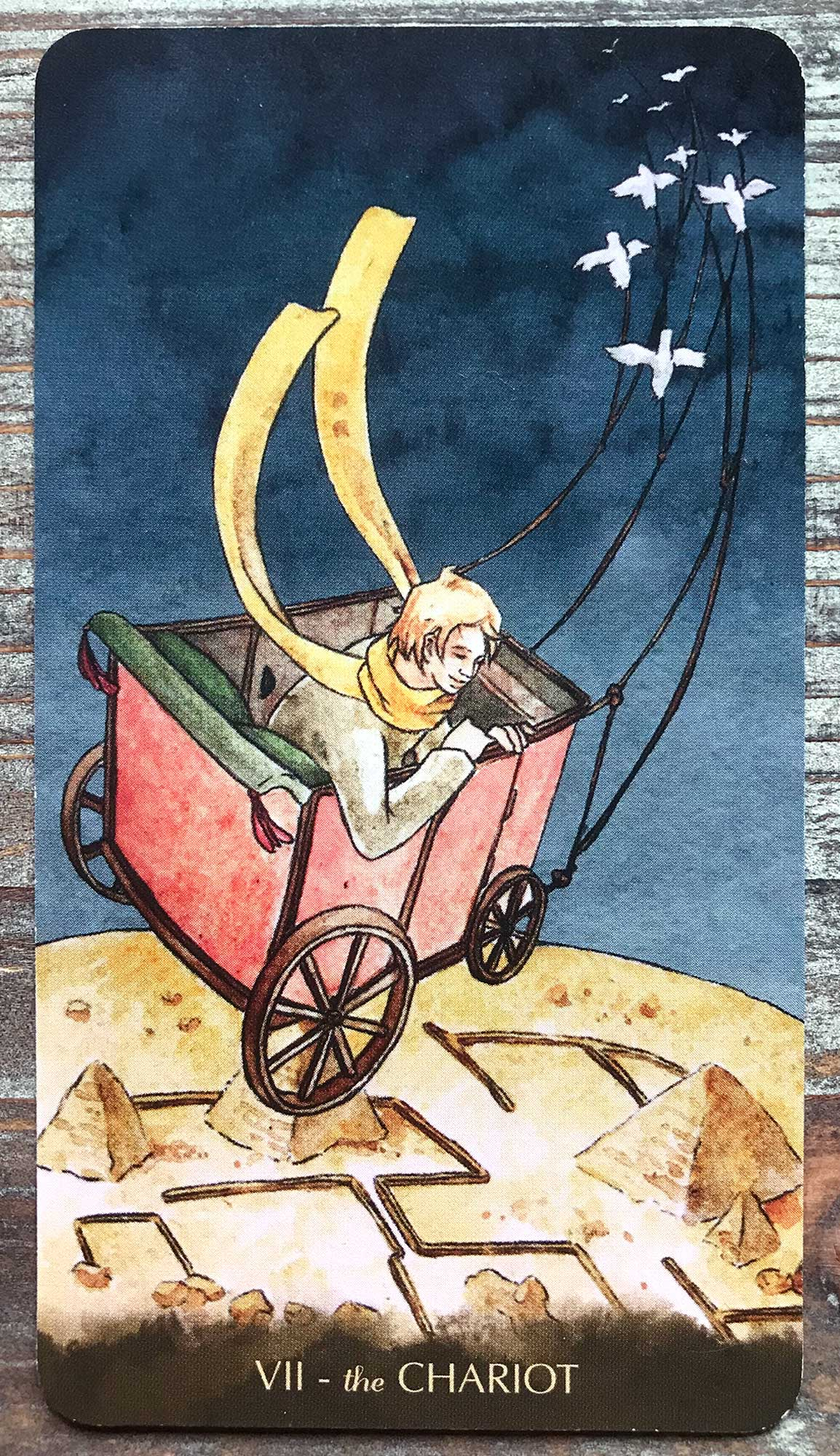 Tarot of the Little Prince - The Chariot