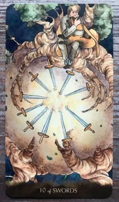 Tarot of the Little Prince - Ten of Swords