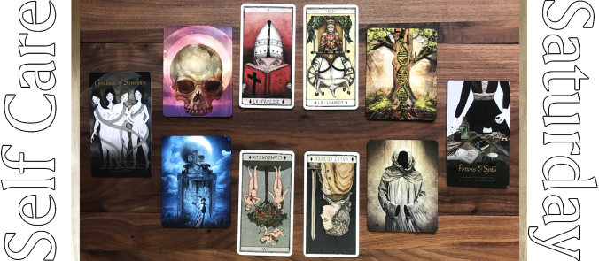 Tarot de Marseilles par Pole Ka, Halloween Oracle, Seasons of the Witch Samhain Oracle