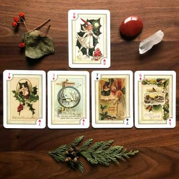 Christmas Playing Cards by US Games