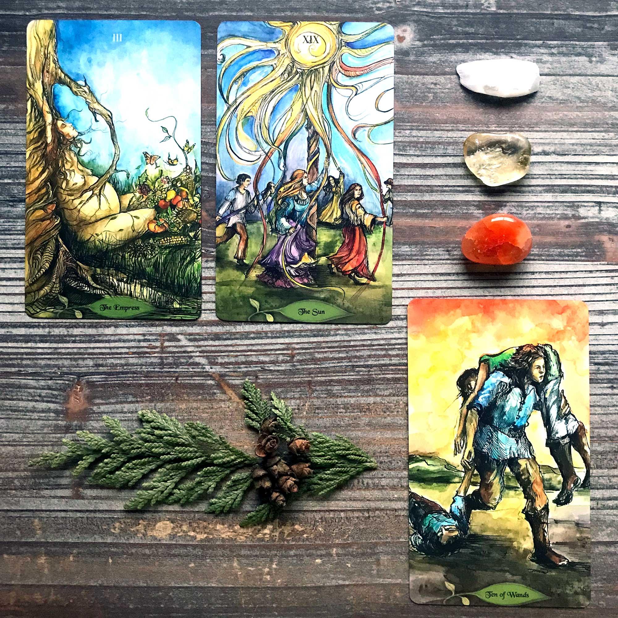 Bonestone & Earthflesh Tarot