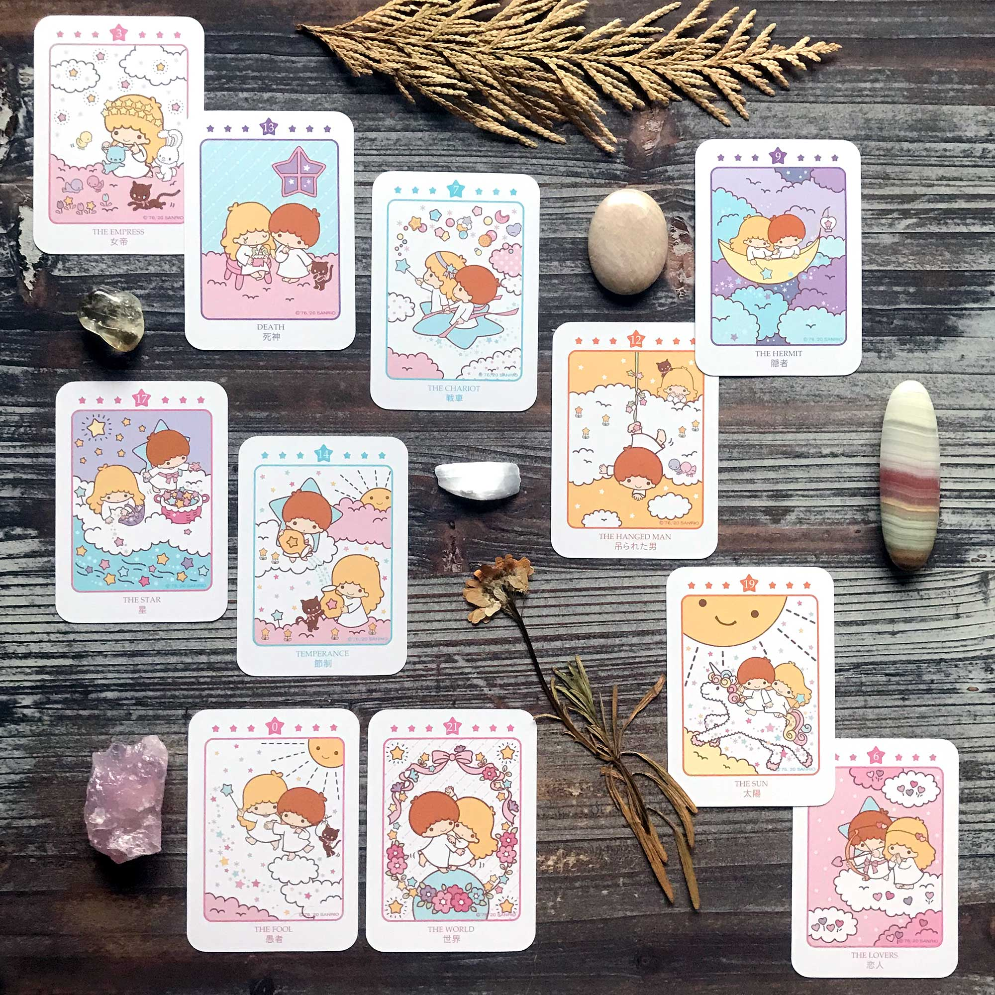 Little Twin Stars Love Tarot