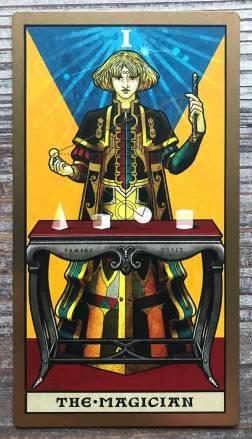 Keymaster Tarot - The Magician