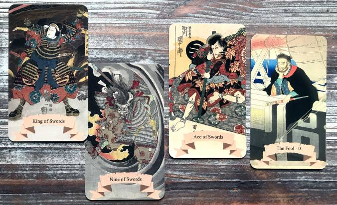 Vintage Japanese Art Tarot