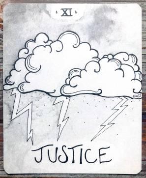 Living Tarot - Justice