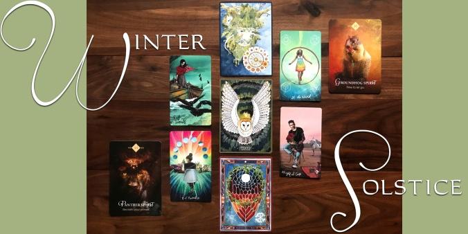 Winter Solstice Tarot Reading - Light Seer's Tarot, The Green Wheel Oracle, The Spirit Animal Oracle