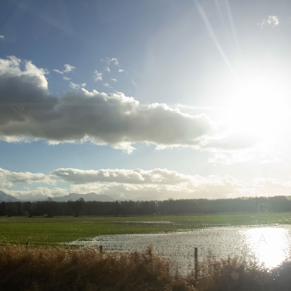Shining Light Landscape