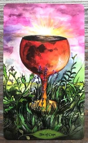 Bonestone & Earthflesh Tarot - Ace of Cups