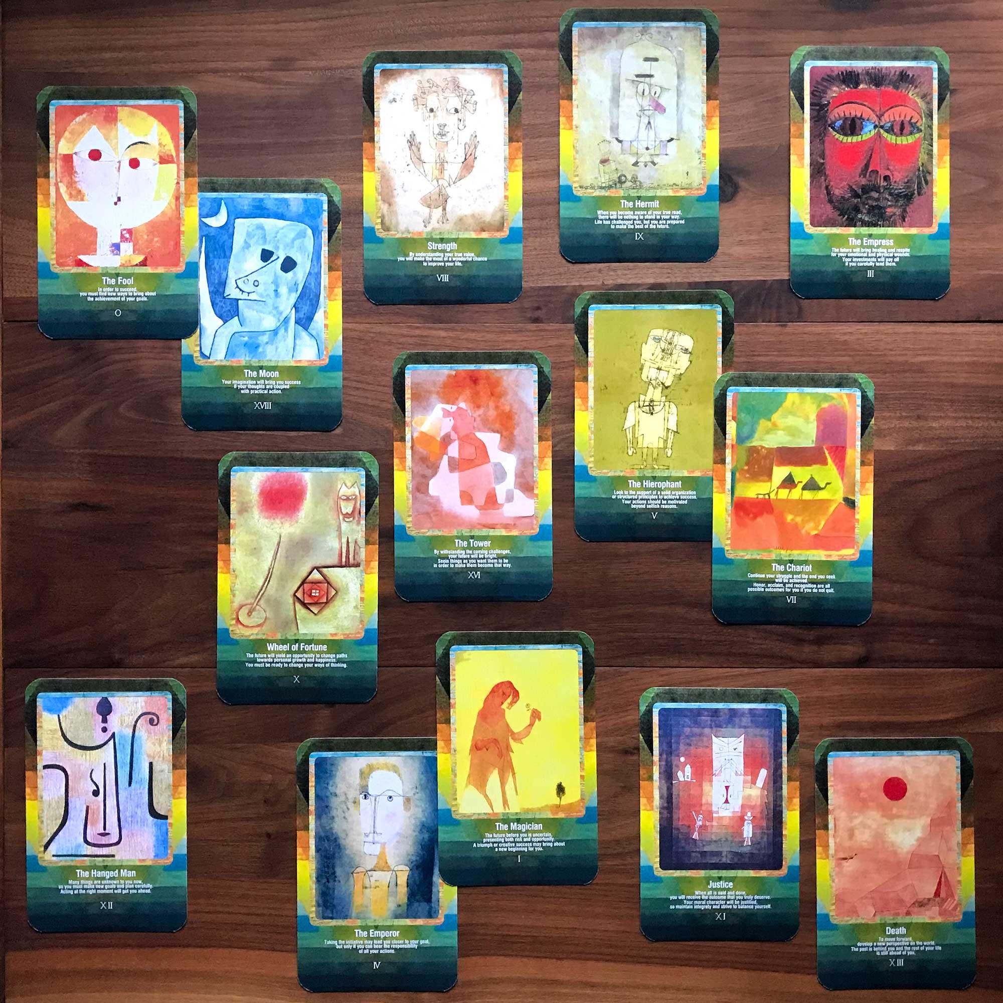Paul Klee Tarot