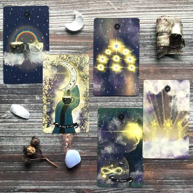 The Deck of the Celestials Tarot