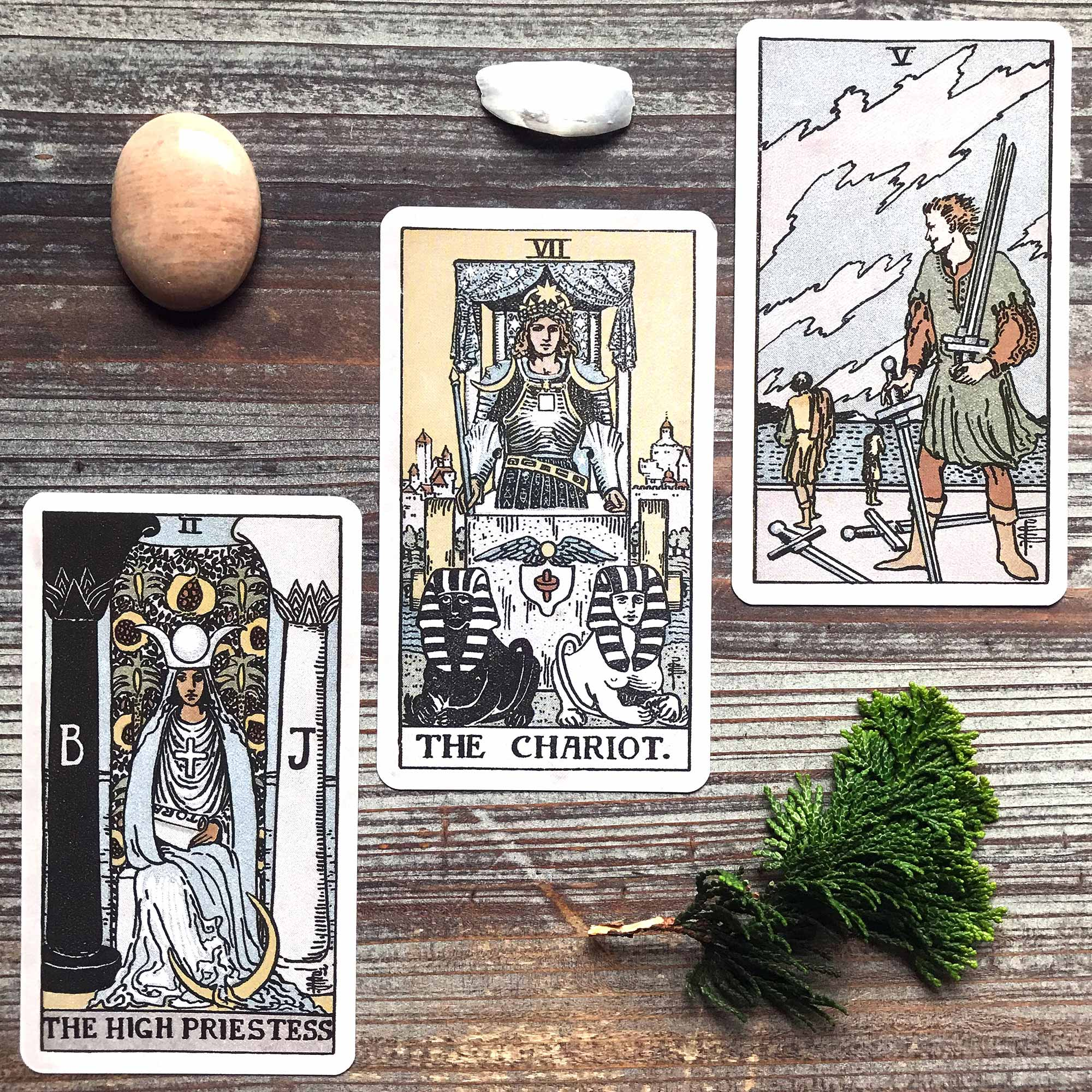 Pamela Coleman Smith RWS Tarot