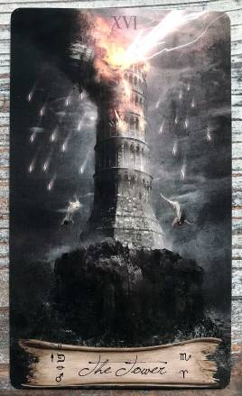 Heaven & Earth Tarot - The Tower